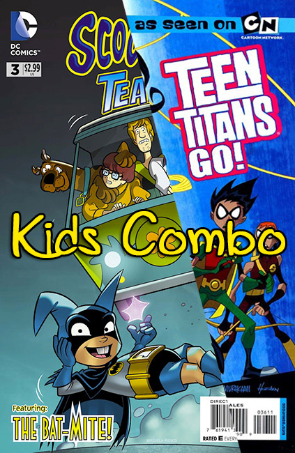 KIDS' COMBO: SCOOBY-DOO TEAM-UP/TEEN TITANS GO!