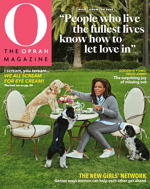 O' THE OPRAH MAGAZINE